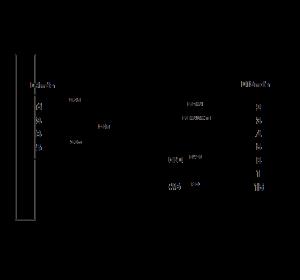 The CRS-PB (YC0501) wiring diagram