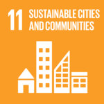 Sustainable cities symbol